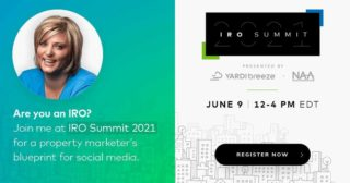 What are you doing tomorrow?  You better be checking out the IRO Summit hosted by @naahq and @yardibreeze with tons of awesome education, including yours truly!  https://info.yardibreeze.com/irosummit  #propertymanagement #realestatemanagment #apartment #realestatemanagementpros #IROSummit #yardibreeze #property