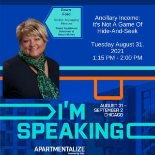 Our fearless leader, broker, managing partner Dawn, is moderating one session, and a panelist on another at this years Apartmentalize conference in Chicago! When she isn't bringing knowledge to the stage, or leading her businesses, she is serving on committees, crafting, or tap dancing her way into the hearts of many! Way to go Dawn, and the other panelists in our stories, since IG doesn't have the carousel option right now! You rock! 💥#ancillaryincome #apartmentalize #speaker #chicago #apartmenteducation #conference #augustinchicago2021 #smart #hideandseek #educateyourself #rentalpropertymanagement #assestmanager #cpm #powerhousepanelists